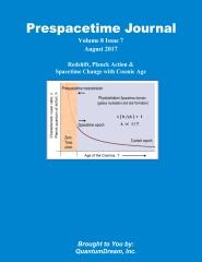 Prespacetime Journal Volume 8 Issue 7