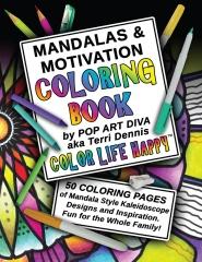 MANDALAS & MOTIVATION Coloring Book