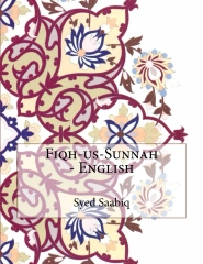 Fiqh-us-Sunnah - English
