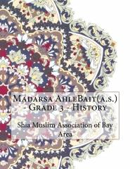 Madarsa AhleBait(a.s.) - Grade 3 - History