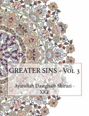 GREATER SINS - Vol 3