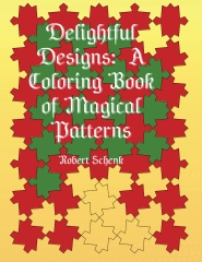 Delightful Designs: A Coloring Book of Magical Patterns