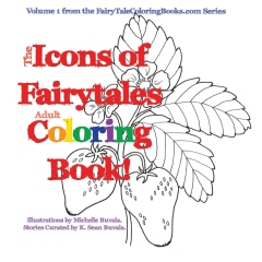 The Icons of Fairytales Adult Coloring Book