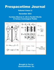 Prespacetime Journal Volume 6 Issue 11