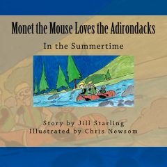 Monet the Mouse Loves the Adirondacks