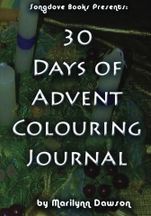 30 Days of Advent Colouring Journal
