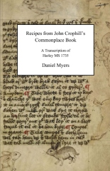 Recipes from John Crophill's Commonplace Book