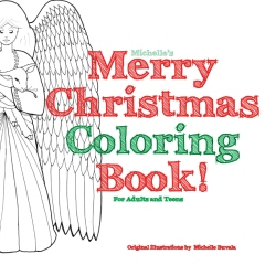 Michelle's Merry Christmas Coloring Book