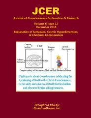 Journal of Consciousness Exploration & Research Volume 6 Issue 12