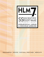 HLM7 Hierarchical Linear and Nonlinear Modeling User Manual