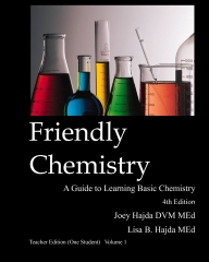 Friendly Chemistry - Teacher Edition (One Student) Volume 1
