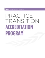 Practice Transition Accreditation Program 2016 Application Manual