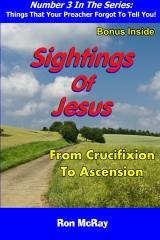 Sightings Of Jesus