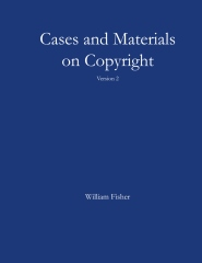 Cases and Materials on Copyright