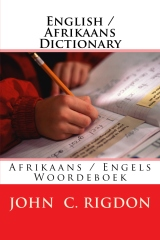 English / Afrikaans Dictionary
