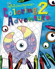 My Very Silly Monster Coloring Adventure 2