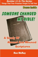 Someone Changed My Bible!