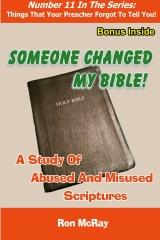 Someone Changed My Bible!
