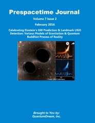Prespacetime Journal Volume 7 Issue 2
