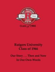 Rutgers University Class of 1966