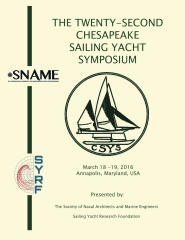 Proceedings of the Twenty Second Chesapeake Sailing Yacht Symposium