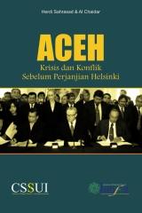 Aceh: Krisis dan Transisi  Sebelum Perjanjian Helsinki