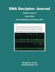 DNA Decipher Journal Volume 6 Issue 1