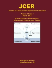 Journal of Consciousness Exploration & Research Volume 7 Issue 3