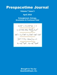 Prespacetime Journal Volume 7 Issue 5