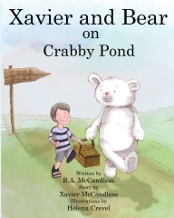 Xavi and Bear on Crab Pond