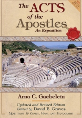 The Acts of the Apostles: An Expositon