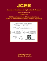 Journal of Consciousness Exploration & Research Volume 7 Issue 4