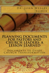 Planning Documents for Pastors and Church Leaders
