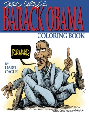 Daryl Cagle's BARACK OBAMA Coloring Book!