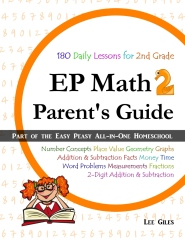 EP Math 2 Parent's Guide
