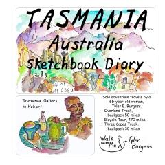 Tasmania, Australia Sketchbook Diary