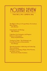 Molinari Review Volume 1, No. 1 (Spring 2016)
