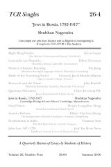 TCR Singles 26-4 Jews in Russia, 1792-1917
