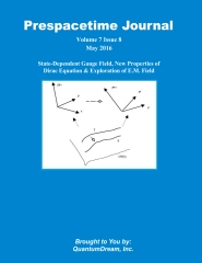 Prespacetime Journal Volume 7 Issue 8