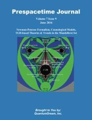 Prespacetime Journal Volume 7 Issue 9