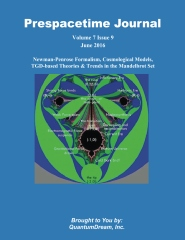 Prespacetime Journal Volume 7 Issue 9