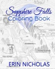 Sapphire Falls Coloring Book
