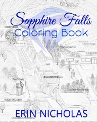 Sapphire Falls Coloring Book