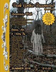 Dark Gothic Resurrected Magazine Summer 2016