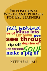 Prepositional Words and Phrases for ESL Learners