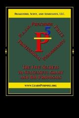 P5: The Five Secrets to Successful Grant and Bid Proposals