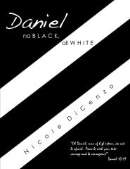 Daniel: no Black, all White