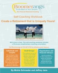 BOOMERangs Retirement Life Planning Self-Coaching Workbook