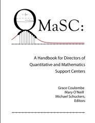 A Handbook for Directors of Quantitative and Mathematics Support Centers