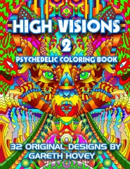High Visions 2 - Psychedelic Coloring Book
